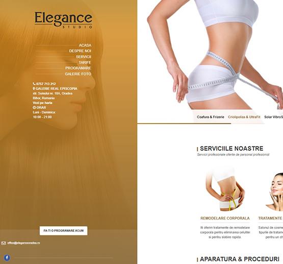 Creare site Elegance Oradea