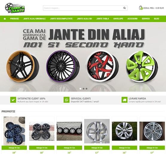 Clinica de Jante Site Vision Web 2
