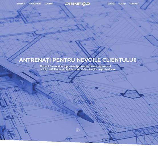 Creare site Pinneor