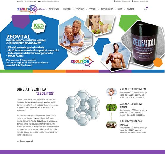 Creare site Zeolitos